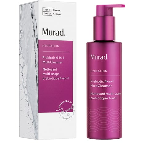 Murad Prebiotic 4 in 1 MultiCleanser box