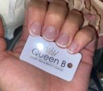 Queen-B-French-Manicure-London