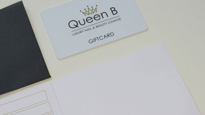 queen b luxury nail and beauty gift card croydon
