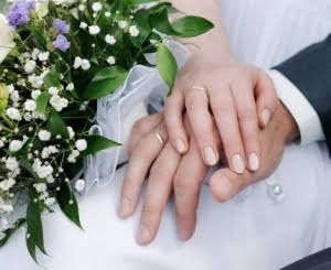 his and hers wedding nails