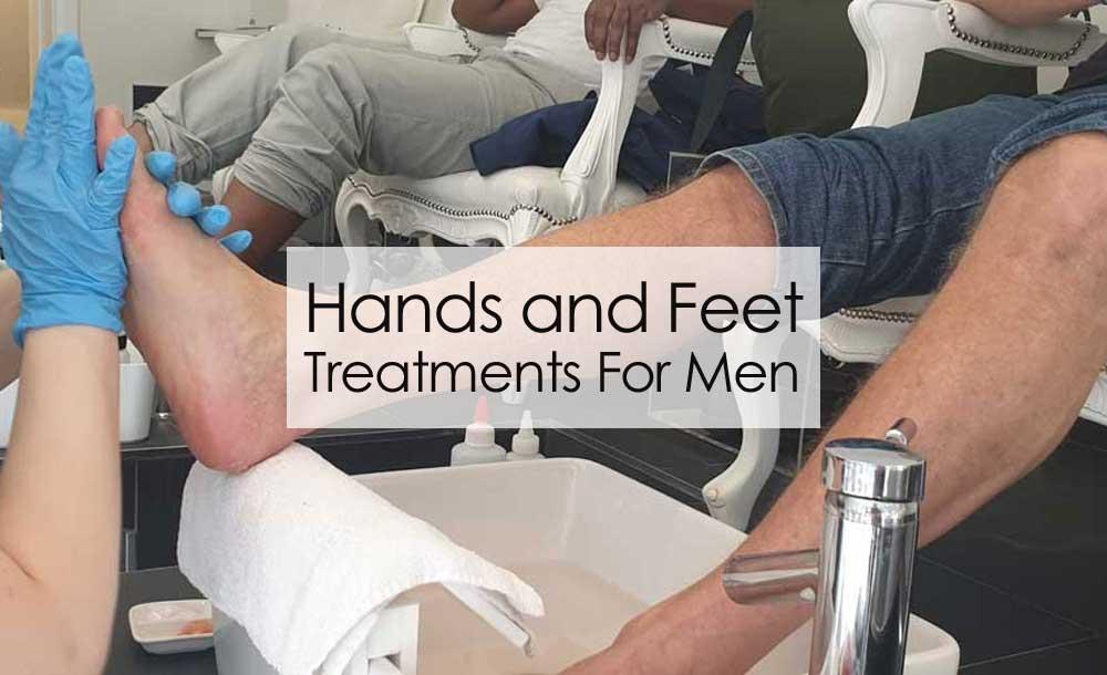 Mens Manicure Pedicure Treatments
