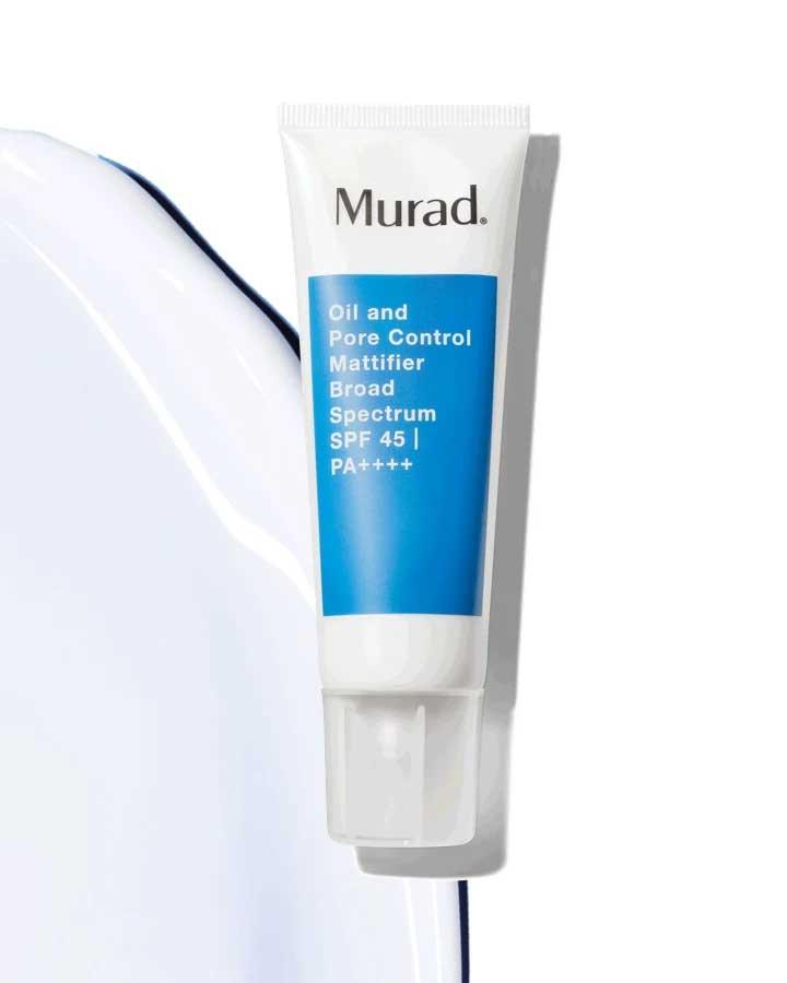 oil and pore control