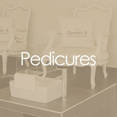 pedicures at Queen B Croydon