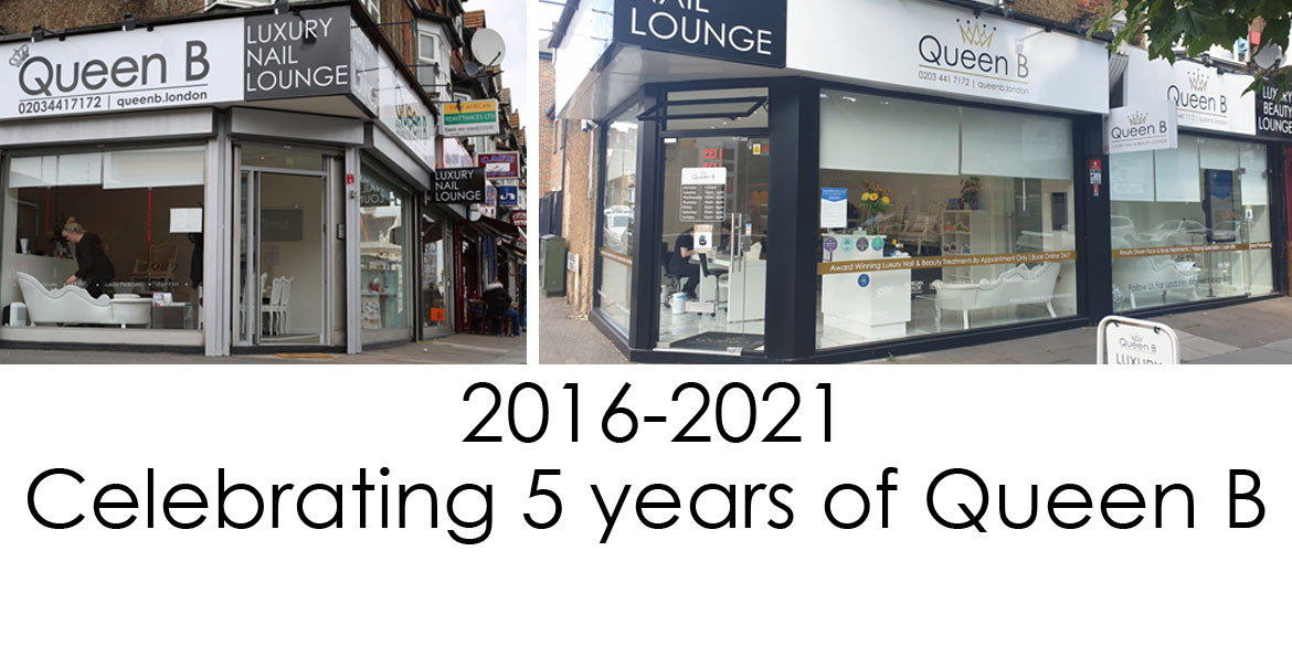Queen B Luxury Nail and Beauty Lounge Croydon